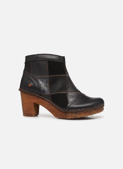 Bottines et boots Art AMSTERDAM 1054 Noir vue derrière
