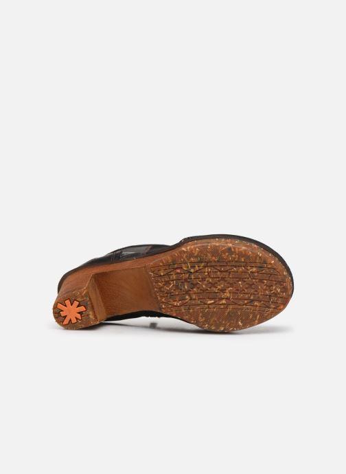 Bottines et boots Art AMSTERDAM 1054 Noir vue haut