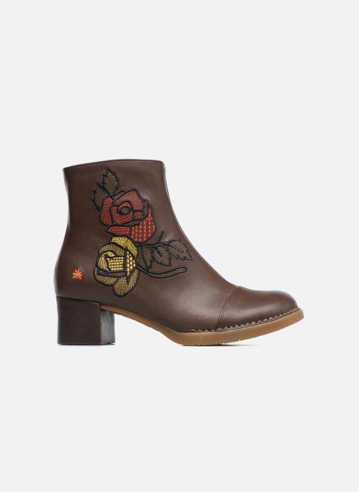 Boots en enkellaarsjes Art BRISTOL 1200 Bruin achterkant