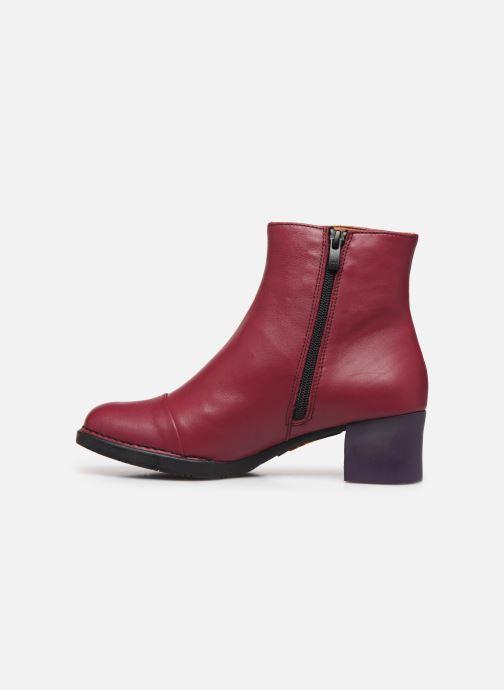 Bottines et boots Art BRISTOL 1200 Bordeaux vue face