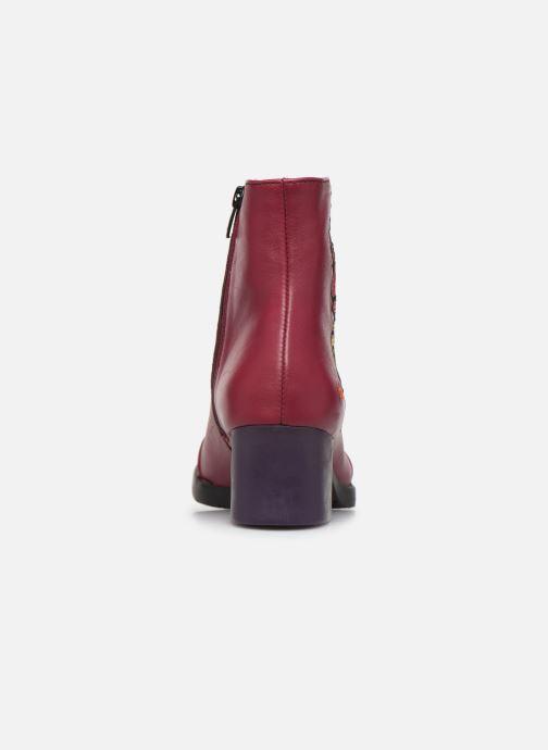 Bottines et boots Art BRISTOL 1200 Bordeaux vue droite