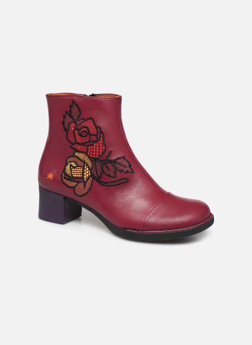 Bottines et boots Art BRISTOL 1200 Bordeaux vue détail/paire