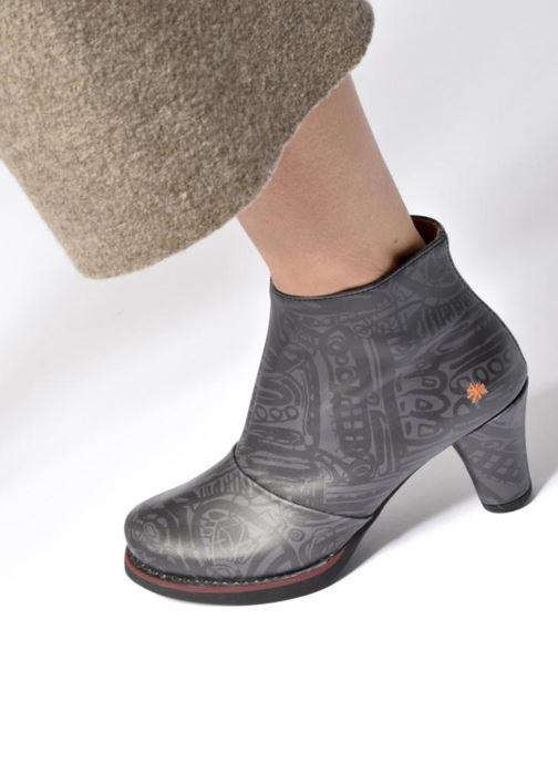 Stiefeletten & Boots Art ST TROPEZ 1073 schwarz ansicht von unten / tasche getragen