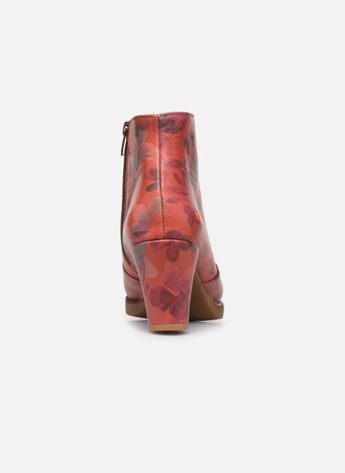 Bottines et boots Art ST TROPEZ 1073 Orange vue droite