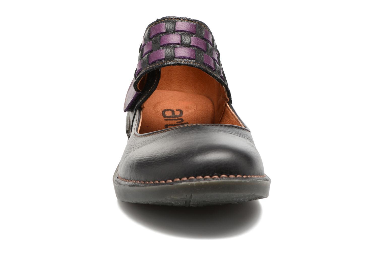 Ballerines Art BERGEN 1210 Noir vue portées chaussures