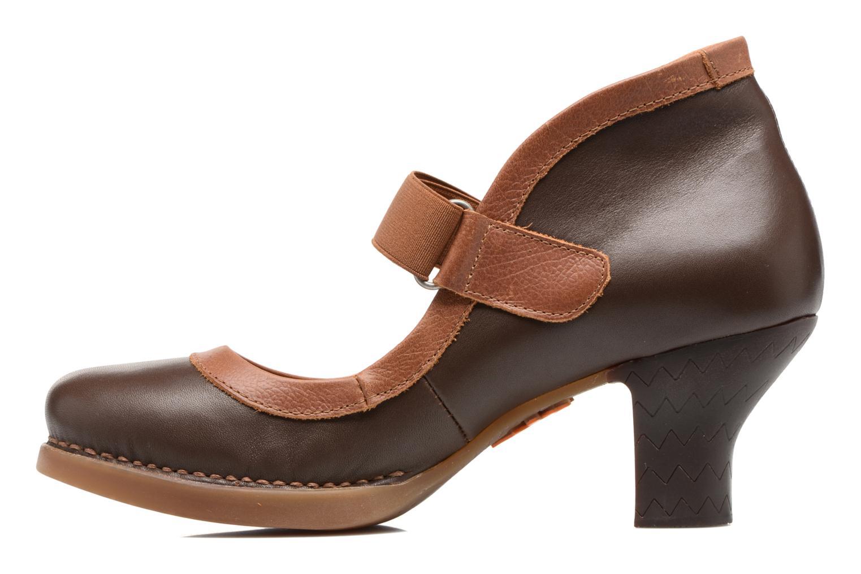 High heels Art HARLEM 1062 Brown front view