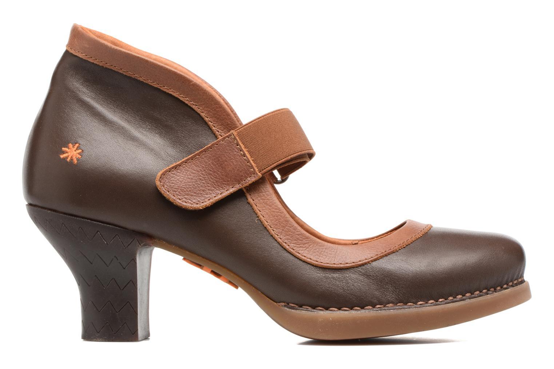 High heels Art HARLEM 1062 Brown back view