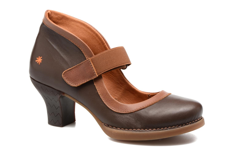 High heels Art HARLEM 1062 Brown detailed view/ Pair view