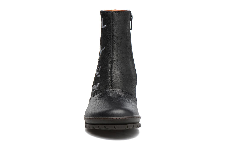 Bottines et boots Art OSLO 1231 Noir vue portées chaussures