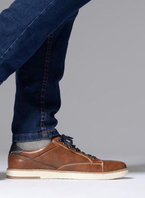 Deportivas I Love Shoes SYLVAN Marrón vista de abajo