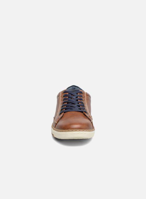 Baskets I Love Shoes SYLVAN Marron vue portées chaussures
