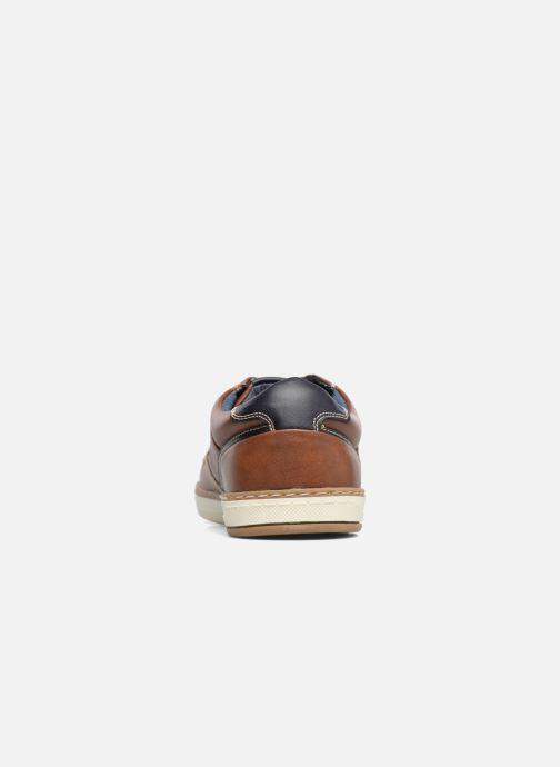 Baskets I Love Shoes SYLVAN Marron vue droite
