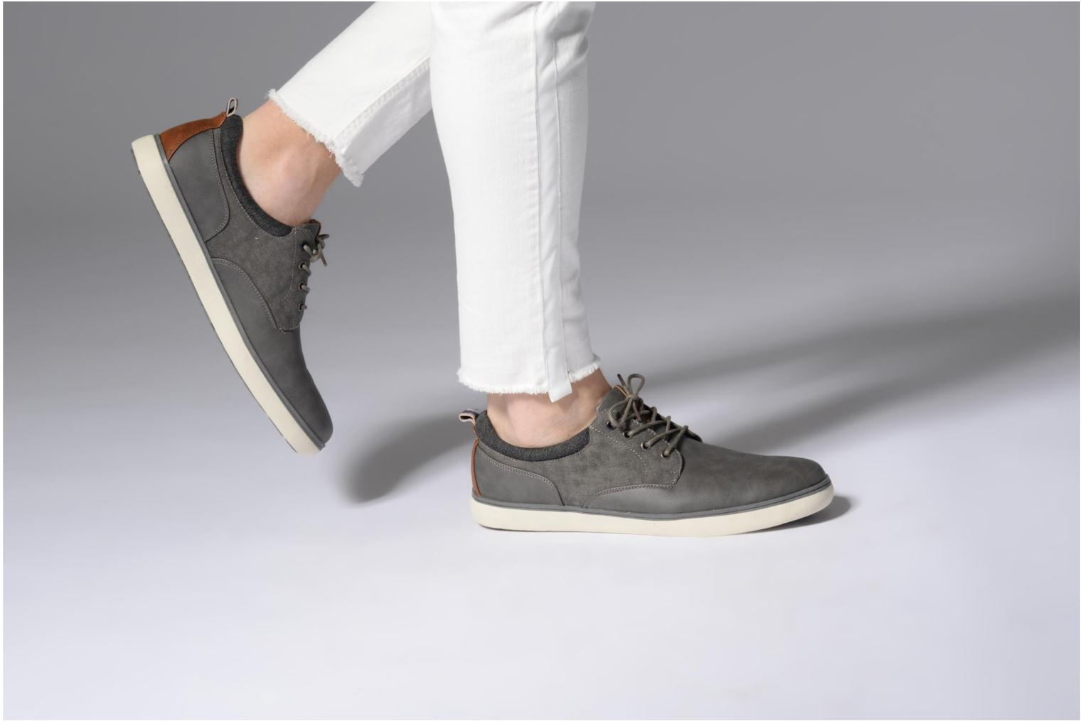 Trainers I Love Shoes SOLAL Grey view from underneath / model view