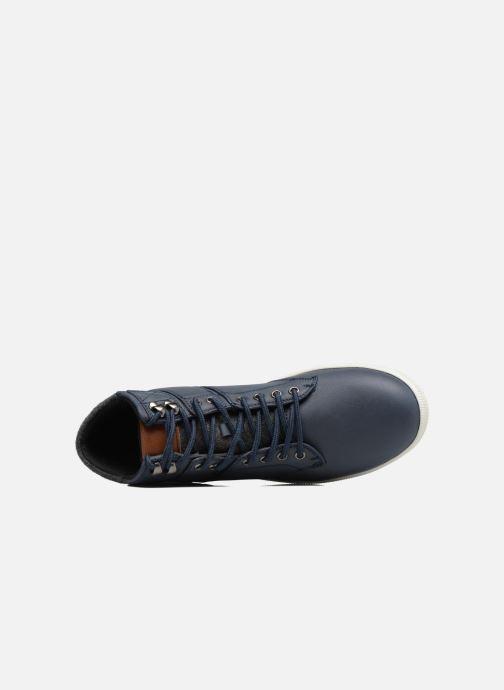 Deportivas I Love Shoes SOANE Azul vista lateral izquierda