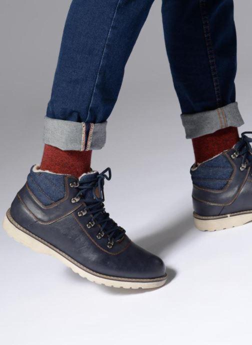 Bottines et boots I Love Shoes SEDRIC Bleu vue bas / vue portée sac