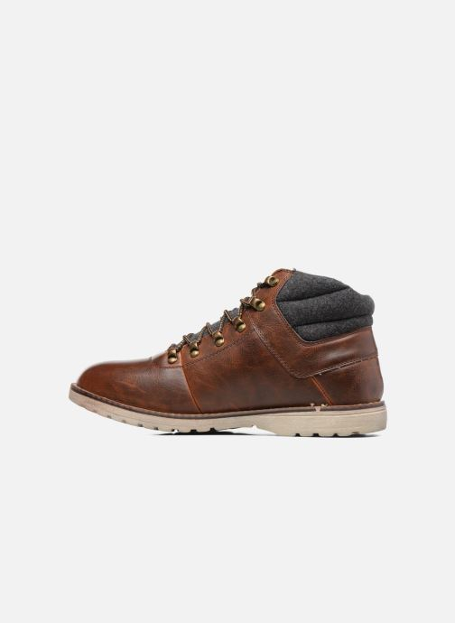 Boots en enkellaarsjes I Love Shoes SEDRIC Bruin voorkant