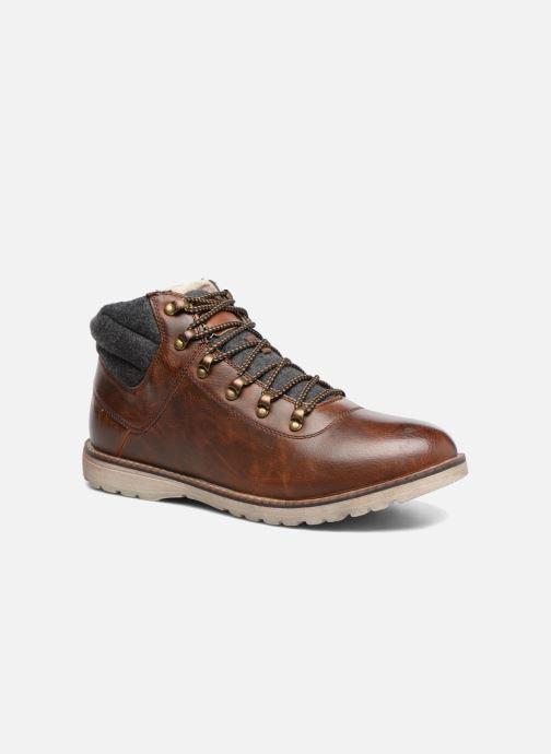 Boots en enkellaarsjes I Love Shoes SEDRIC Bruin detail