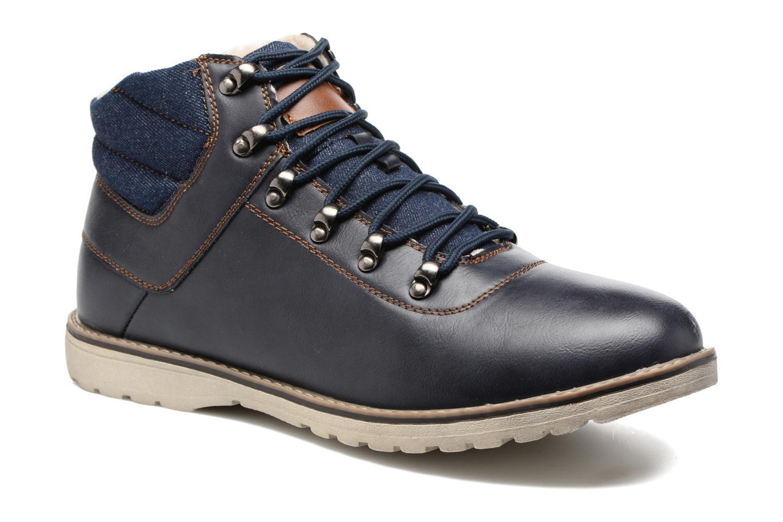 I Love Shoes SEDRIC (Bleu) - Bottines et boots en Más cómodo Mode pas cher et belle