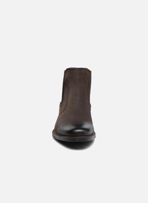 Bottines et boots I Love Shoes SAUL Marron vue portées chaussures
