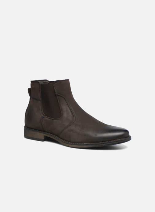 Bottines et boots I Love Shoes SAUL Marron vue détail/paire