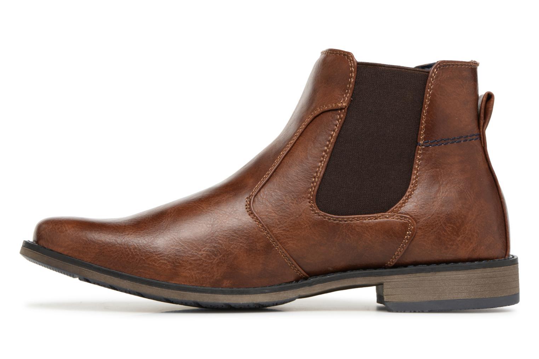 Bottines et boots I Love Shoes SAUL Marron vue face
