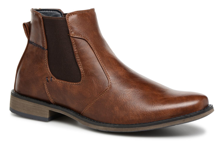Bottines et boots I Love Shoes SAUL Marron vue détail/paire