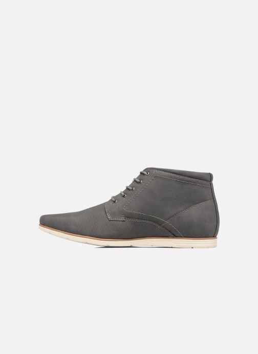 Chaussures à lacets I Love Shoes SIDOINE Gris vue face