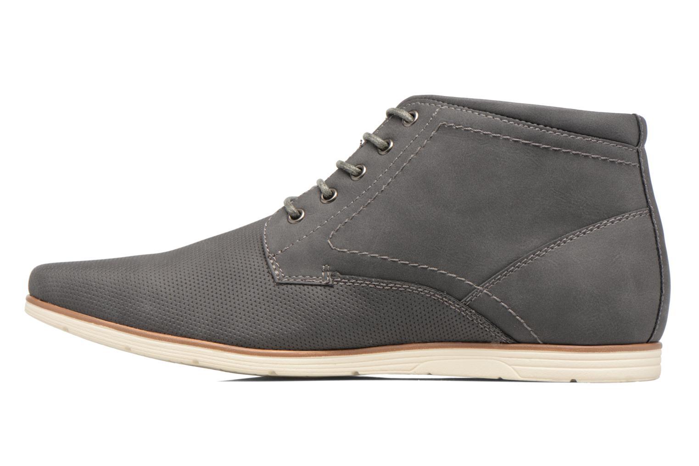 Schnürschuhe I Love Shoes SIDOINE grau ansicht von vorne