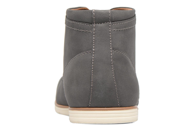 Scarpe con lacci I Love Shoes SIDOINE Grigio immagine destra