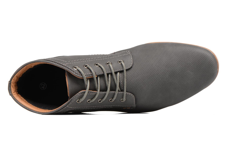 Schnürschuhe I Love Shoes SIDOINE grau ansicht von links