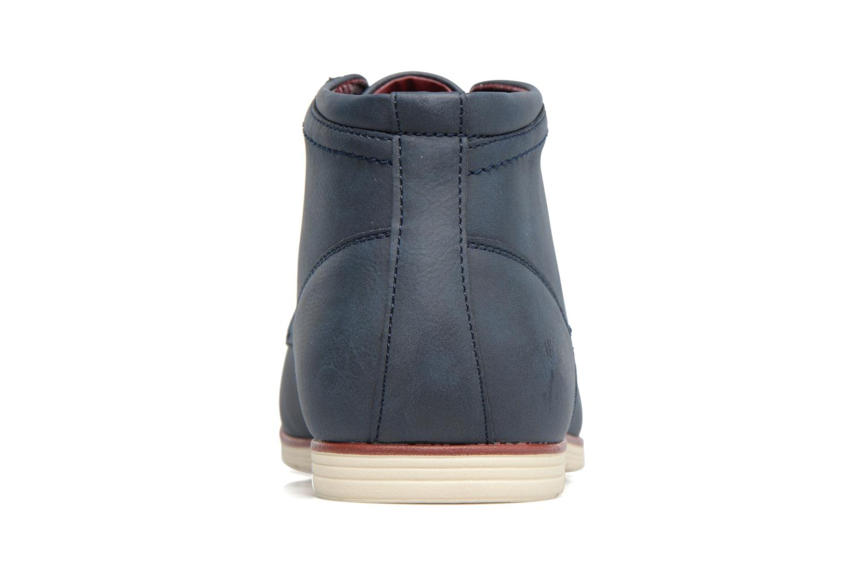 Schnürschuhe I Love Shoes SIDOINE blau ansicht von rechts