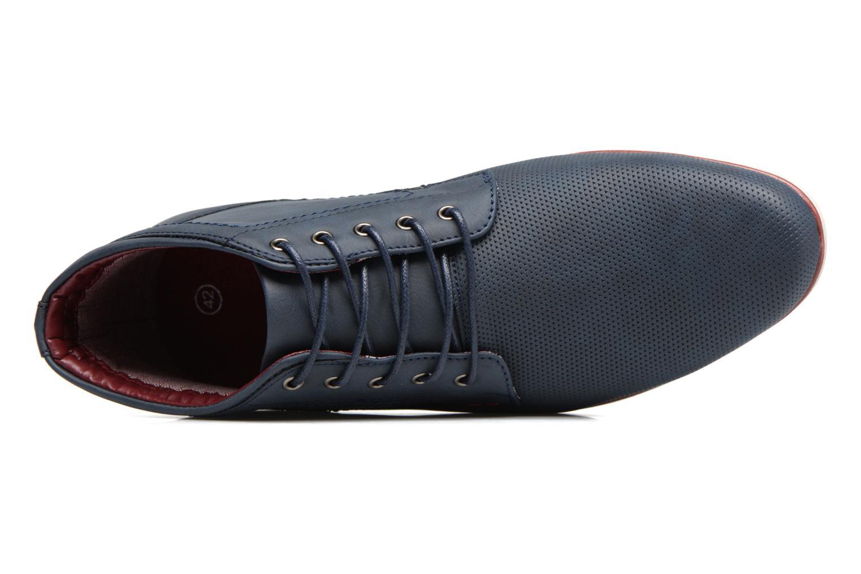 Schnürschuhe I Love Shoes SIDOINE blau ansicht von links
