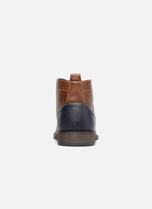 Ankle boots I Love Shoes SIMEON Brown view from the right