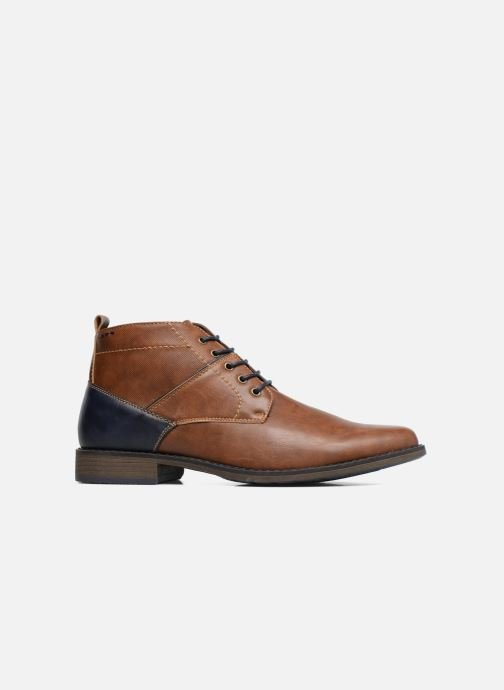 Ankle boots I Love Shoes SIMEON Brown back view