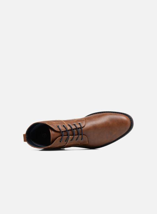 Stiefeletten & Boots I Love Shoes SIMEON braun ansicht von links