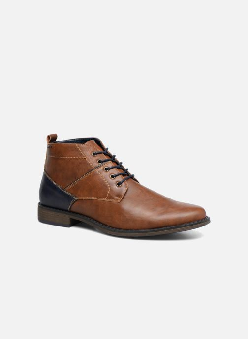 Ankle boots I Love Shoes SIMEON Brown detailed view/ Pair view