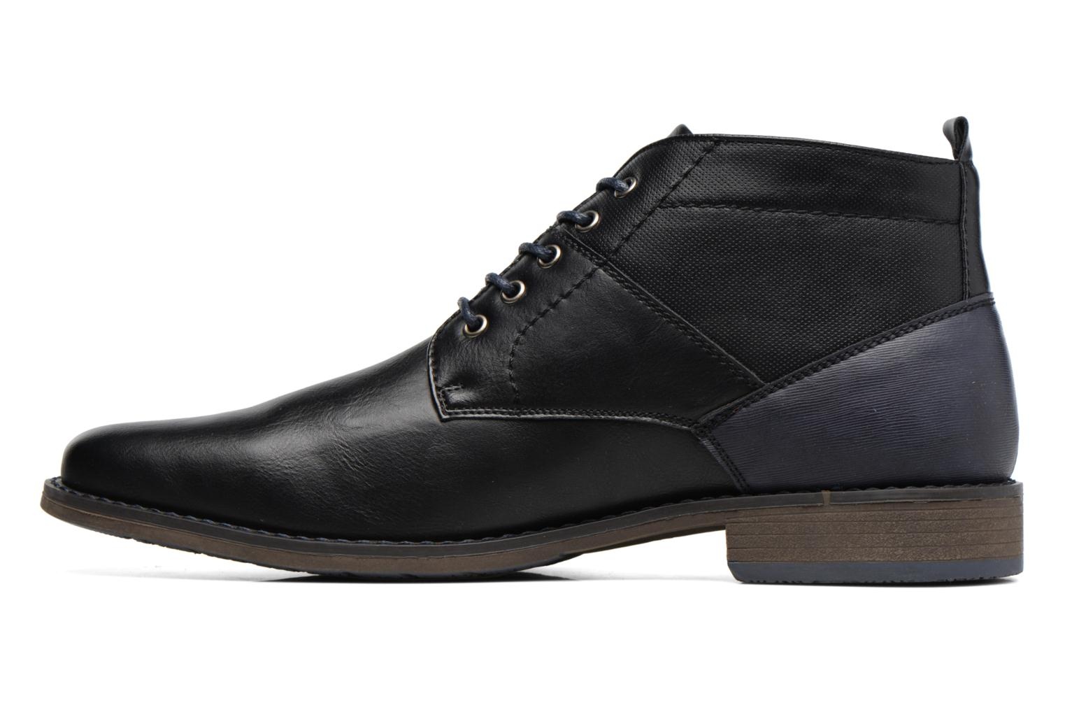 Ankle boots I Love Shoes SIMEON Black front view