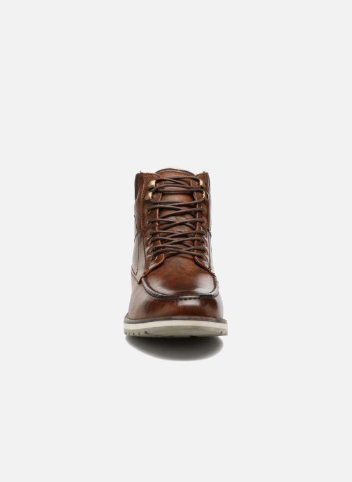 Boots en enkellaarsjes I Love Shoes SANDRIC Bruin model
