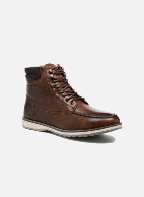Boots en enkellaarsjes I Love Shoes SANDRIC Bruin detail