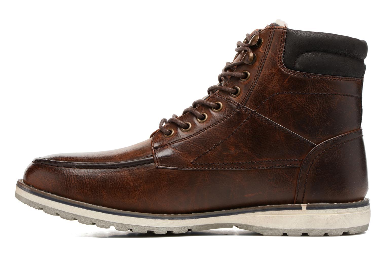 Bottines et boots I Love Shoes SANDRIC Marron vue face