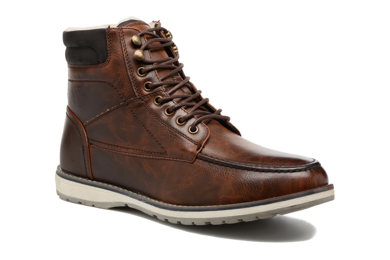 Bottines et boots I Love Shoes SANDRIC Marron vue détail/paire