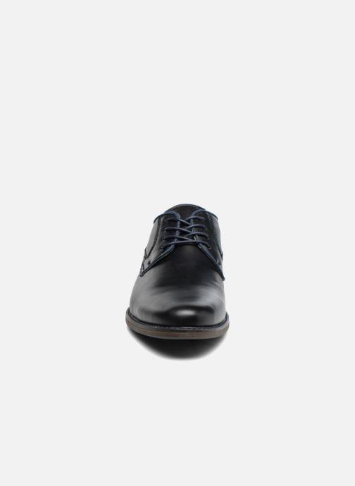 Scarpe con lacci I Love Shoes SIGMUND Nero modello indossato