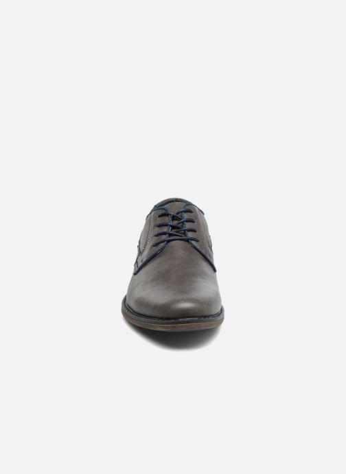 Chaussures à lacets I Love Shoes SIGMUND Gris vue portées chaussures