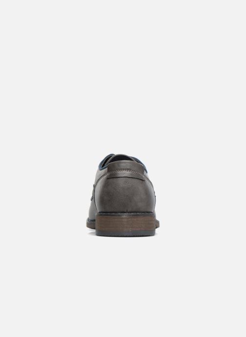 Zapatos con cordones I Love Shoes SIGMUND Gris vista lateral derecha