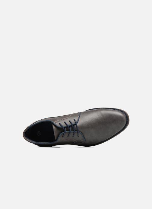 Schnürschuhe I Love Shoes SIGMUND grau ansicht von links