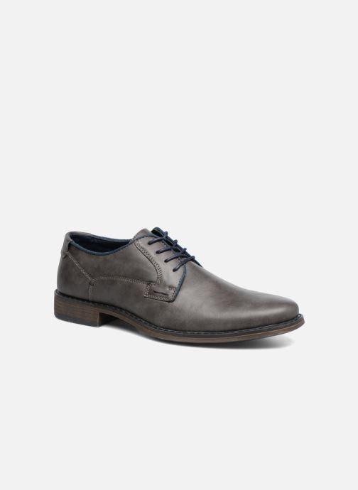 Chaussures à lacets I Love Shoes SIGMUND Gris vue détail/paire