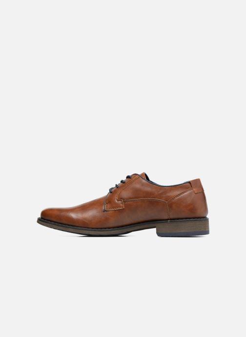 Schnürschuhe I Love Shoes SIGMUND braun ansicht von vorne