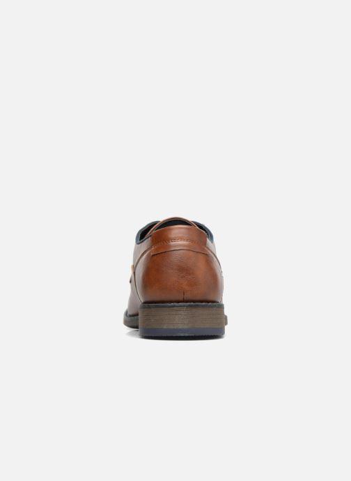 Schnürschuhe I Love Shoes SIGMUND braun ansicht von rechts