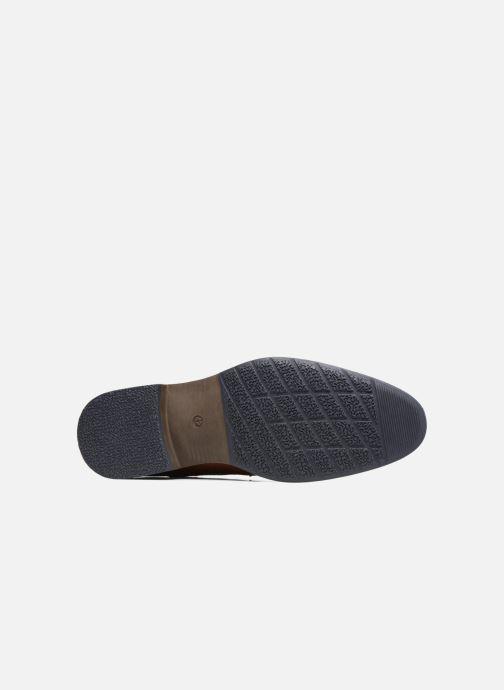 Schnürschuhe I Love Shoes SIGMUND braun ansicht von oben