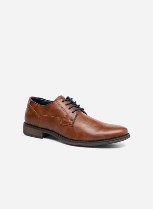 Veterschoenen I Love Shoes SIGMUND Bruin detail